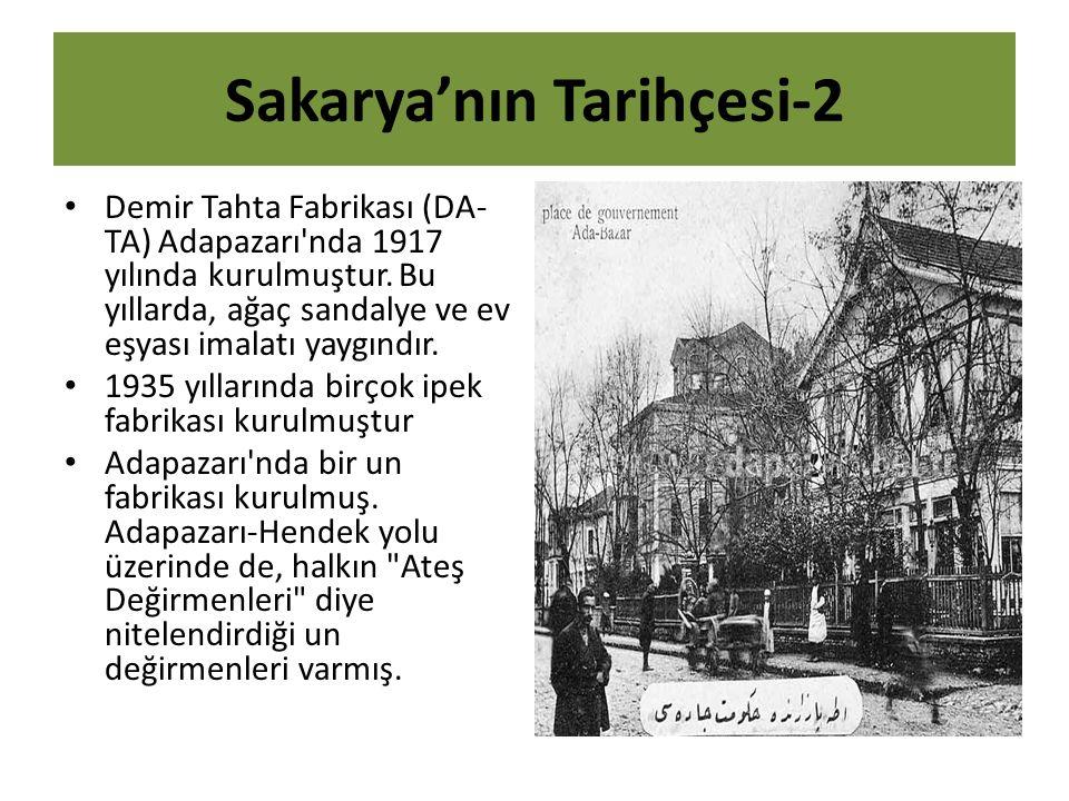 Sakarya'nın Tarihçesi-2