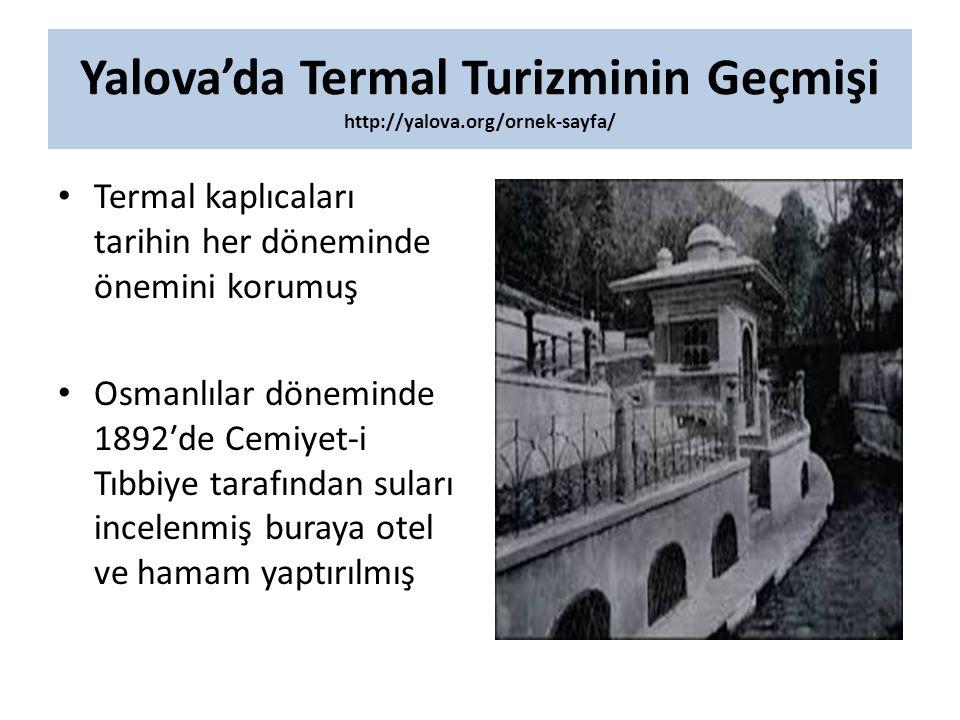 Yalova'da Termal Turizminin Geçmişi http://yalova.org/ornek-sayfa/