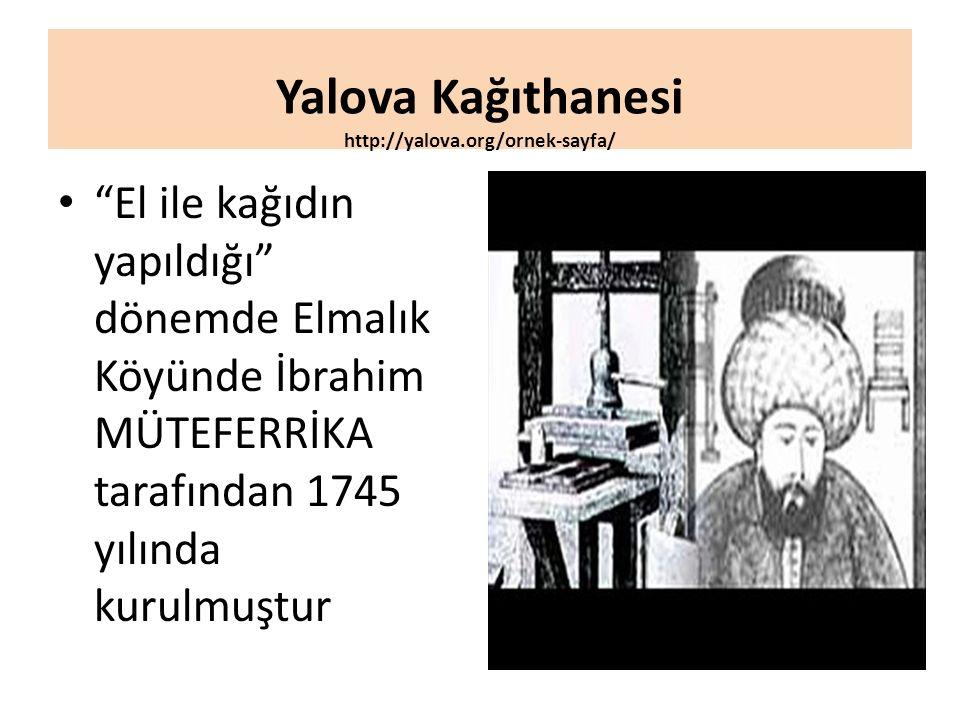 Yalova Kağıthanesi http://yalova.org/ornek-sayfa/