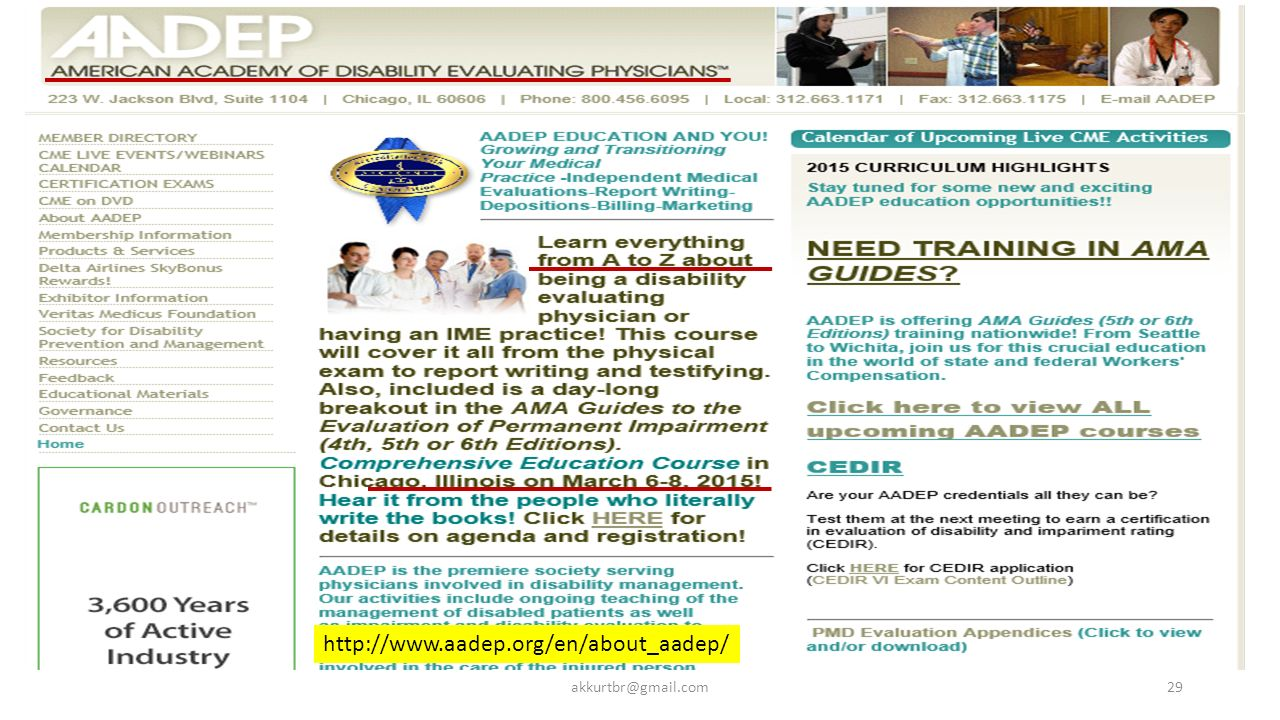http://www.aadep.org/en/about_aadep/ akkurtbr@gmail.com