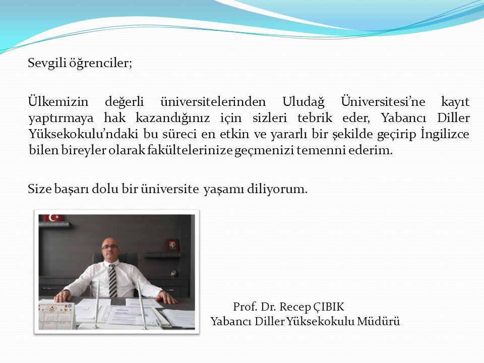 Yabancı Diller Yüksekokulu Müdürü