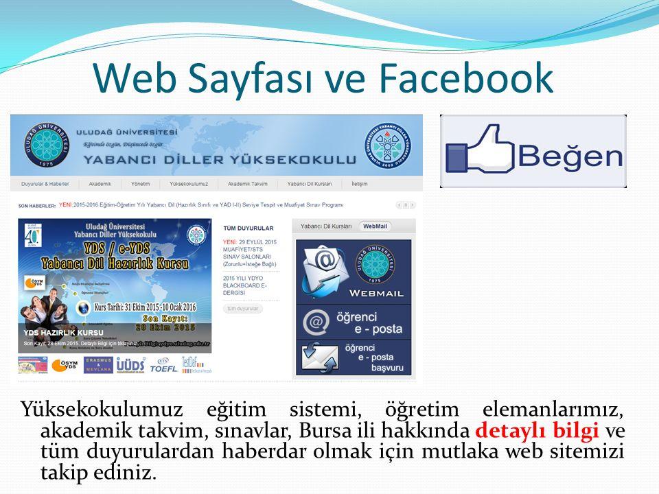 Web Sayfası ve Facebook