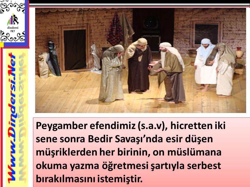 Peygamber efendimiz (s. a