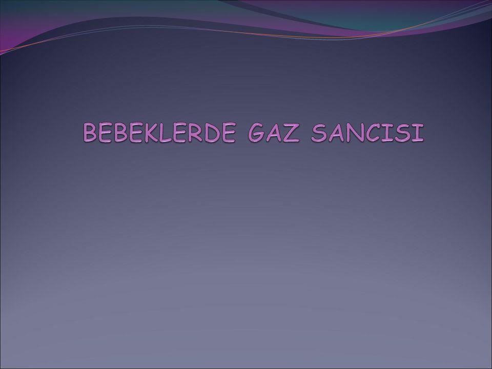 BEBEKLERDE GAZ SANCISI