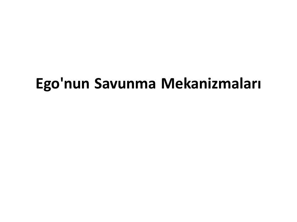 Ego nun Savunma Mekanizmaları