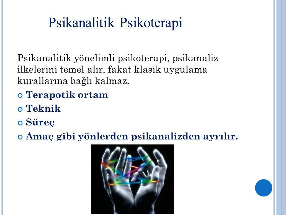 Psikanalitik Psikoterapi