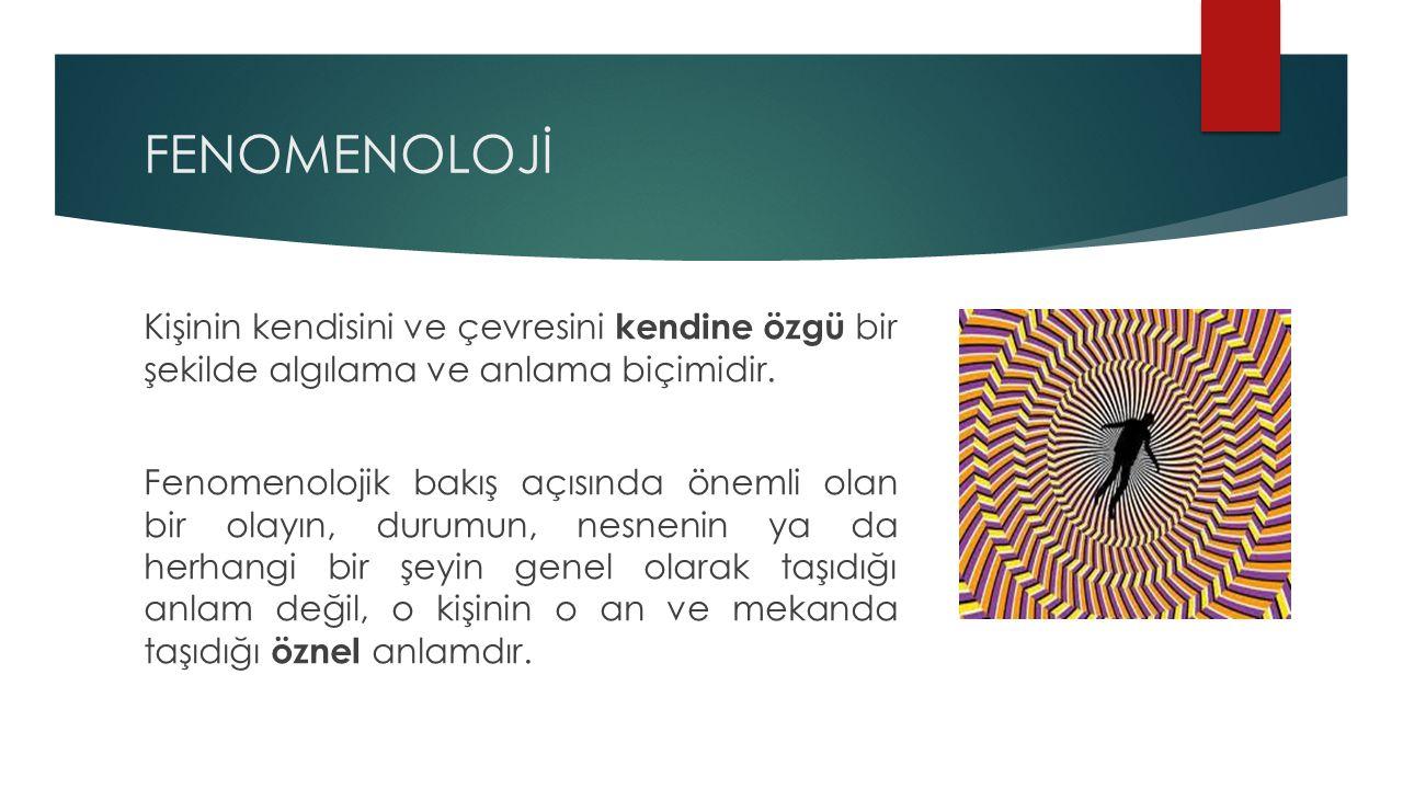 FENOMENOLOJİ