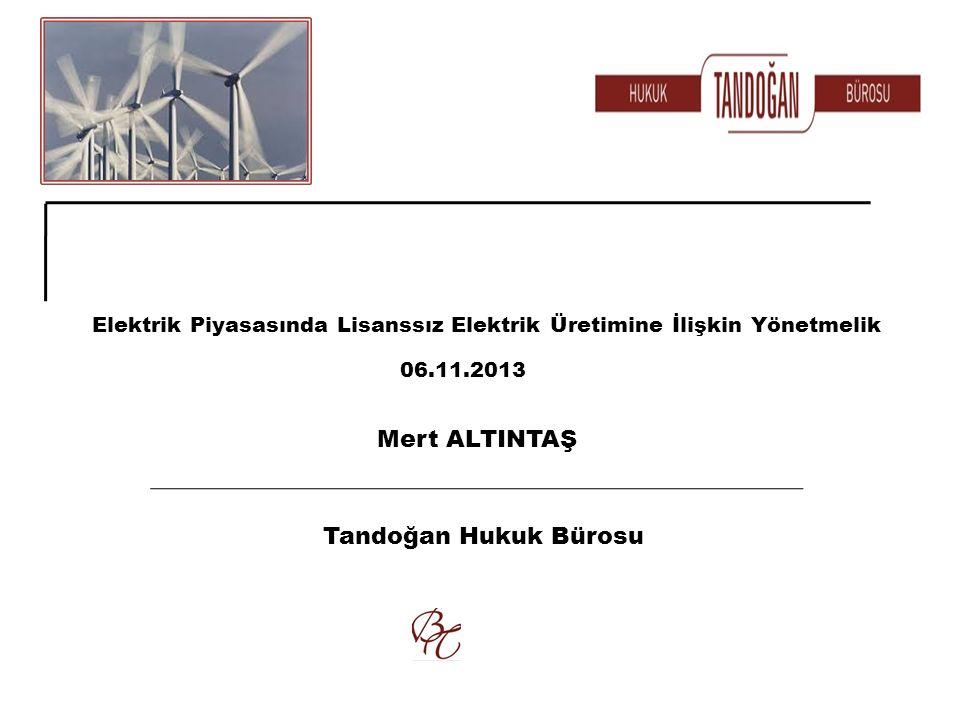 Mert ALTINTAŞ Tandoğan Hukuk Bürosu