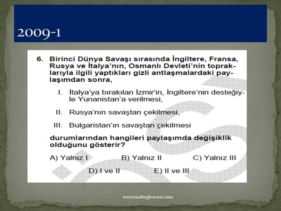 2009-1 www.tariheglencesi.com