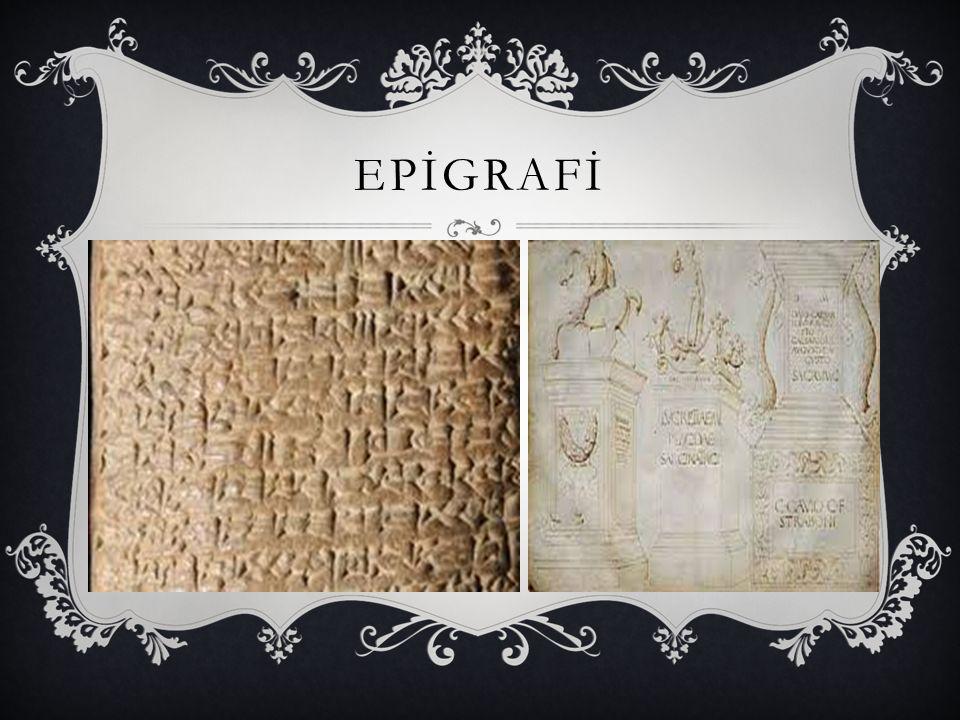 EPİGRAFİ