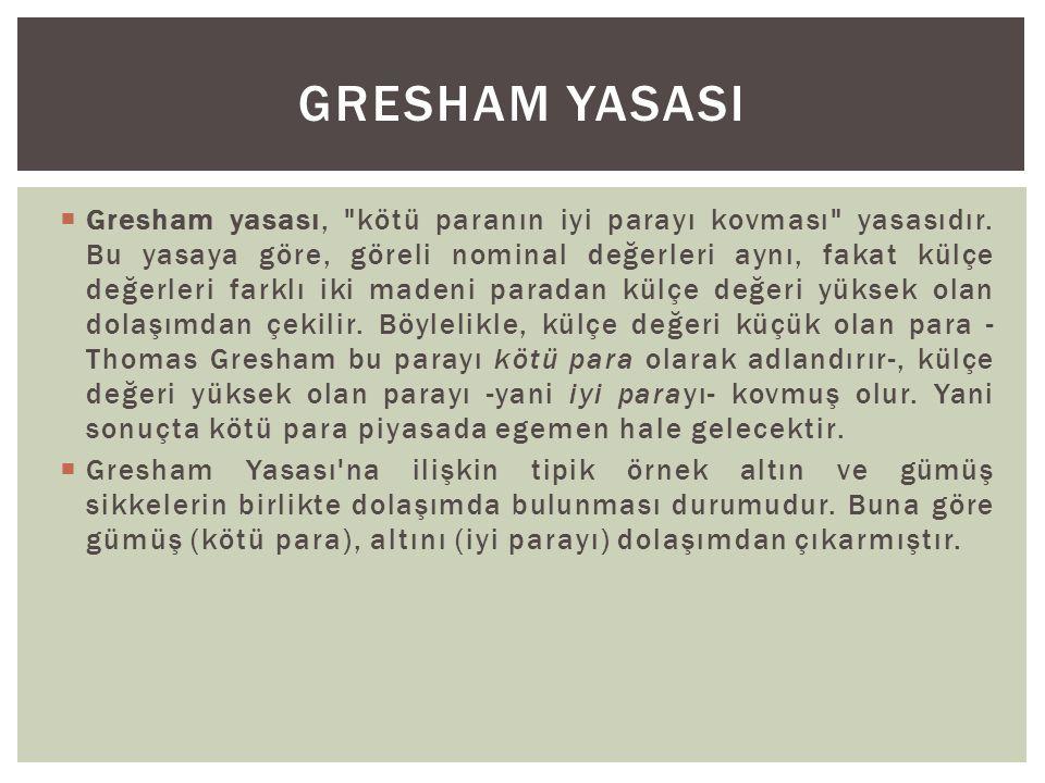 GRESHAM YASASI