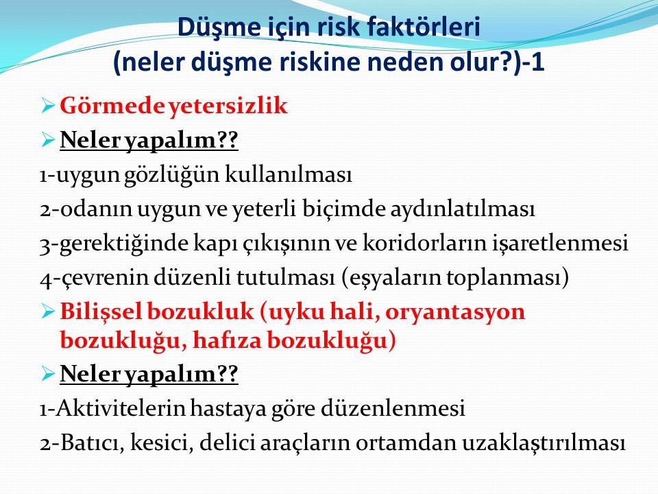 Düşme için risk faktörleri (neler düşme riskine neden olur )-1