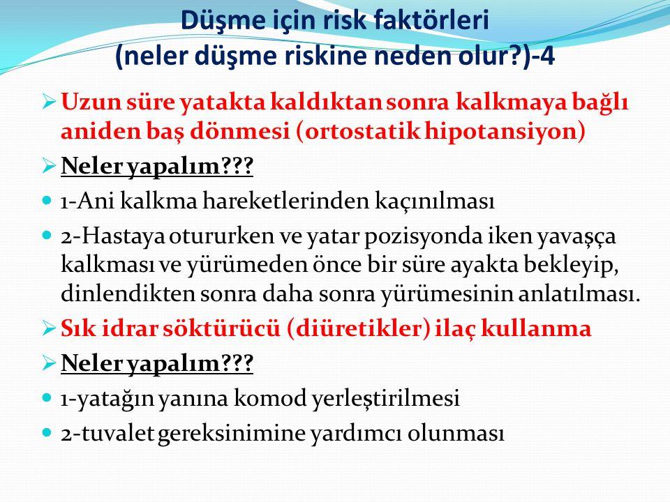 Düşme için risk faktörleri (neler düşme riskine neden olur )-4