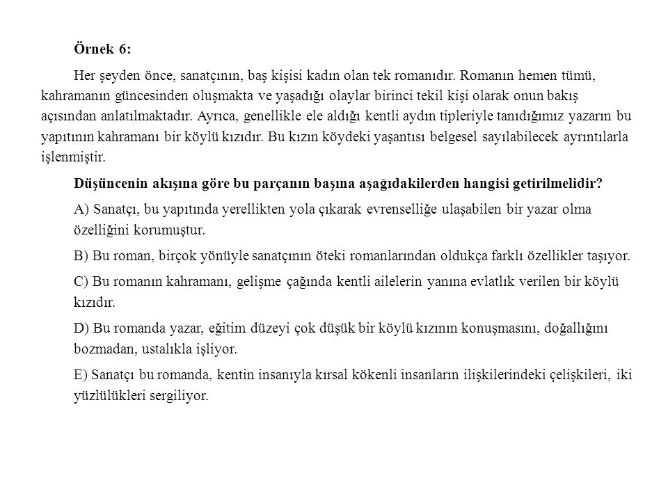 Örnek 6: