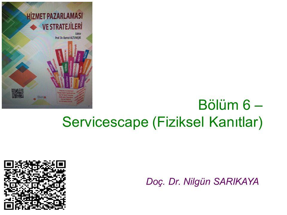 Bölüm 6 – Servicescape (Fiziksel Kanıtlar)