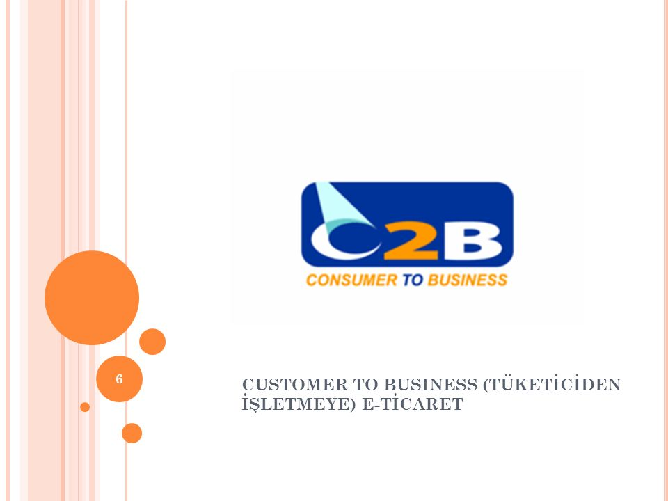 CUSTOMER TO BUSINESS (TÜKETİCİDEN İŞLETMEYE) E-TİCARET
