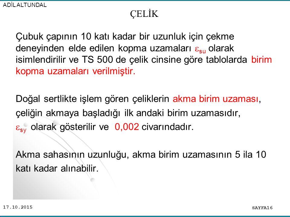 ADİL ALTUNDAL ÇELİK.
