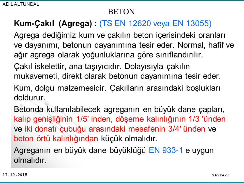 ADİL ALTUNDAL BETON.