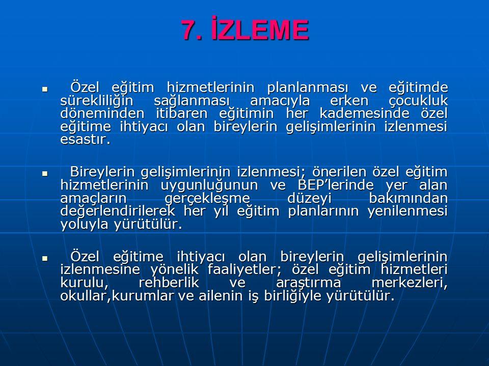 7. İZLEME