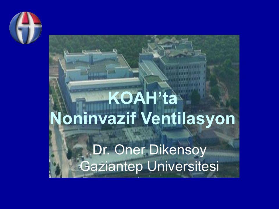 KOAH'ta Noninvazif Ventilasyon