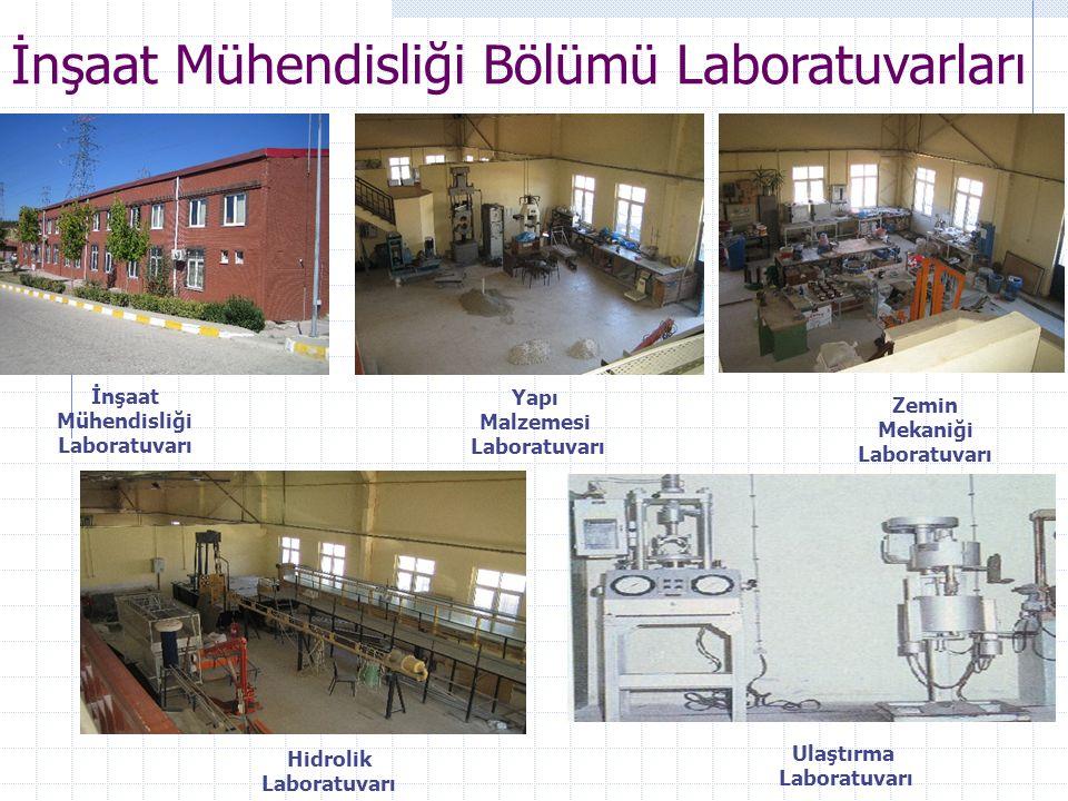 İnşaat Mühendisliği Laboratuvarı Mekaniği Laboratuvarı