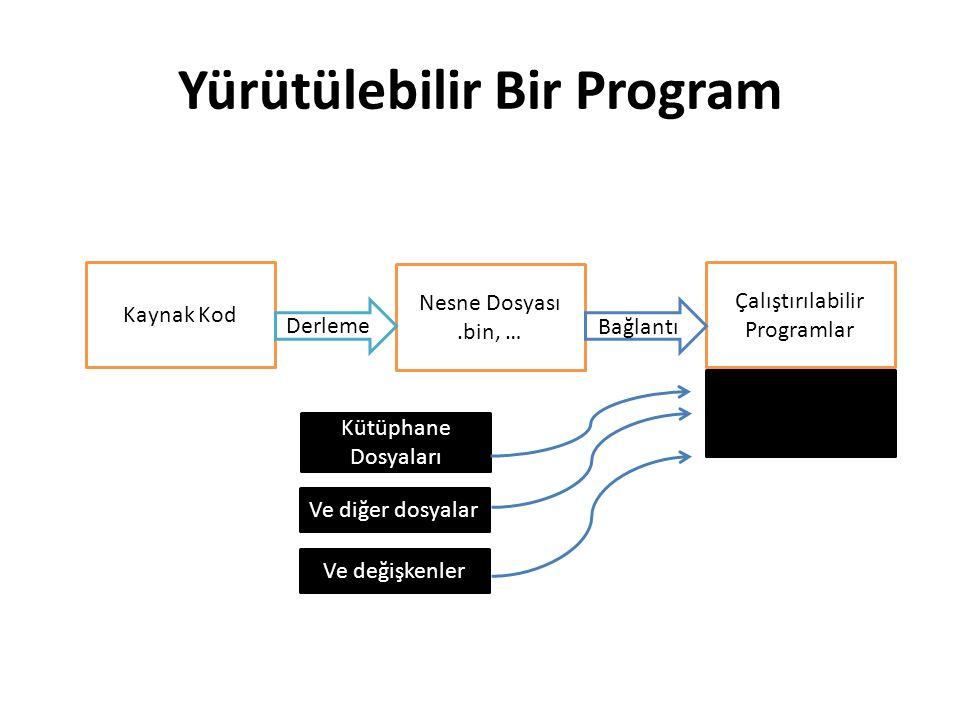 Yürütülebilir Bir Program