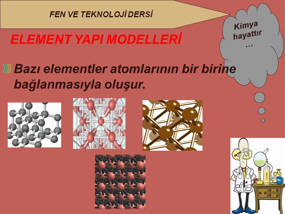 ELEMENT YAPI MODELLERİ