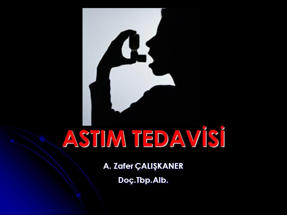 ASTIM TEDAVİSİ A. Zafer ÇALIŞKANER Doç.Tbp.Alb.