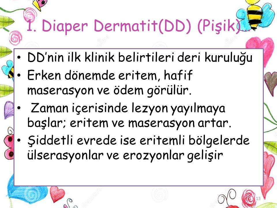 1. Diaper Dermatit(DD) (Pişik)…