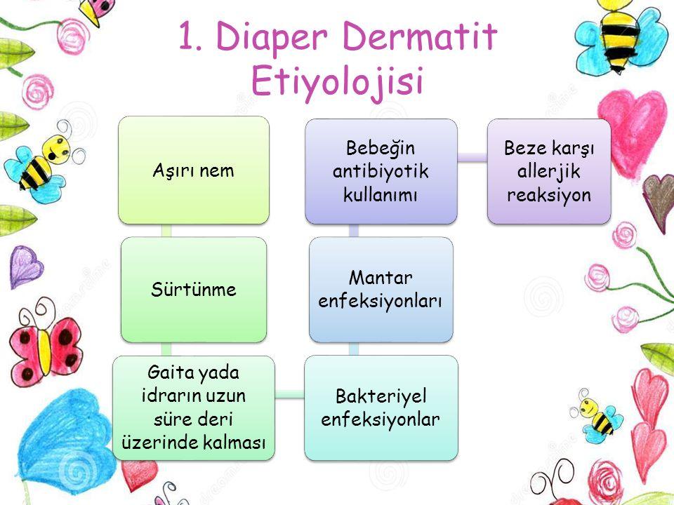 1. Diaper Dermatit Etiyolojisi
