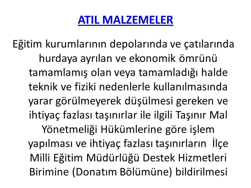 ATIL MALZEMELER