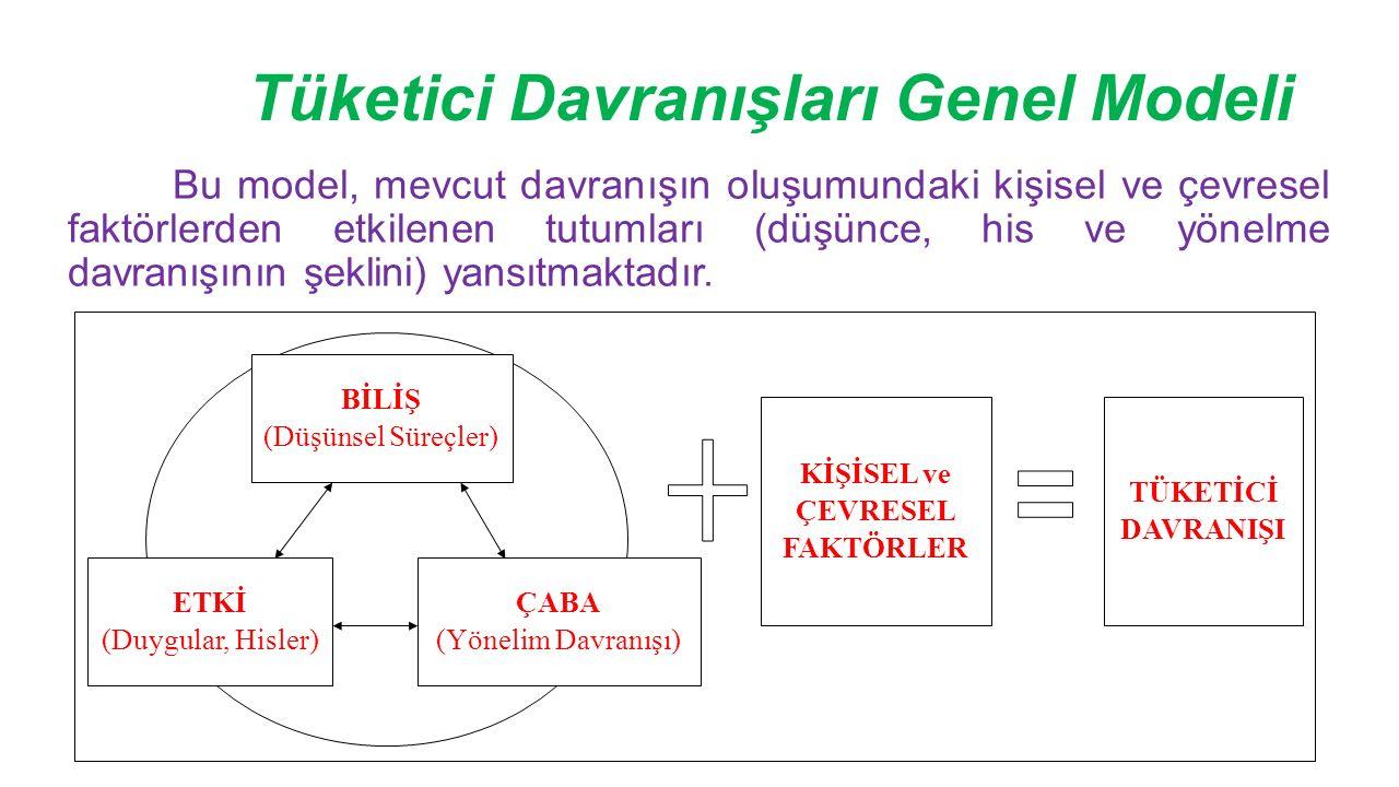 Tüketici Davranışları Genel Modeli