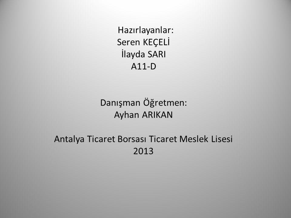 Antalya Ticaret Borsası Ticaret Meslek Lisesi
