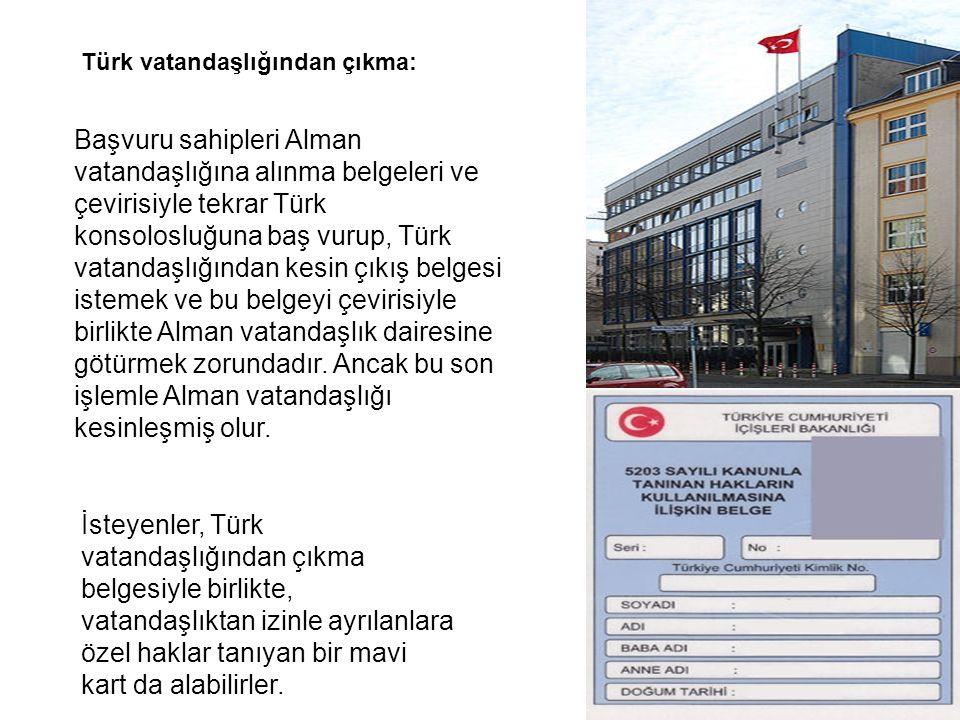 Türk vatandaşlığından çıkma: