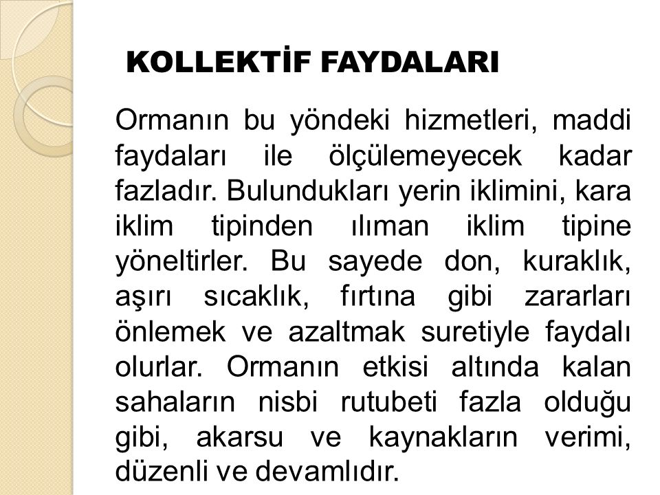 KOLLEKTİF FAYDALARI