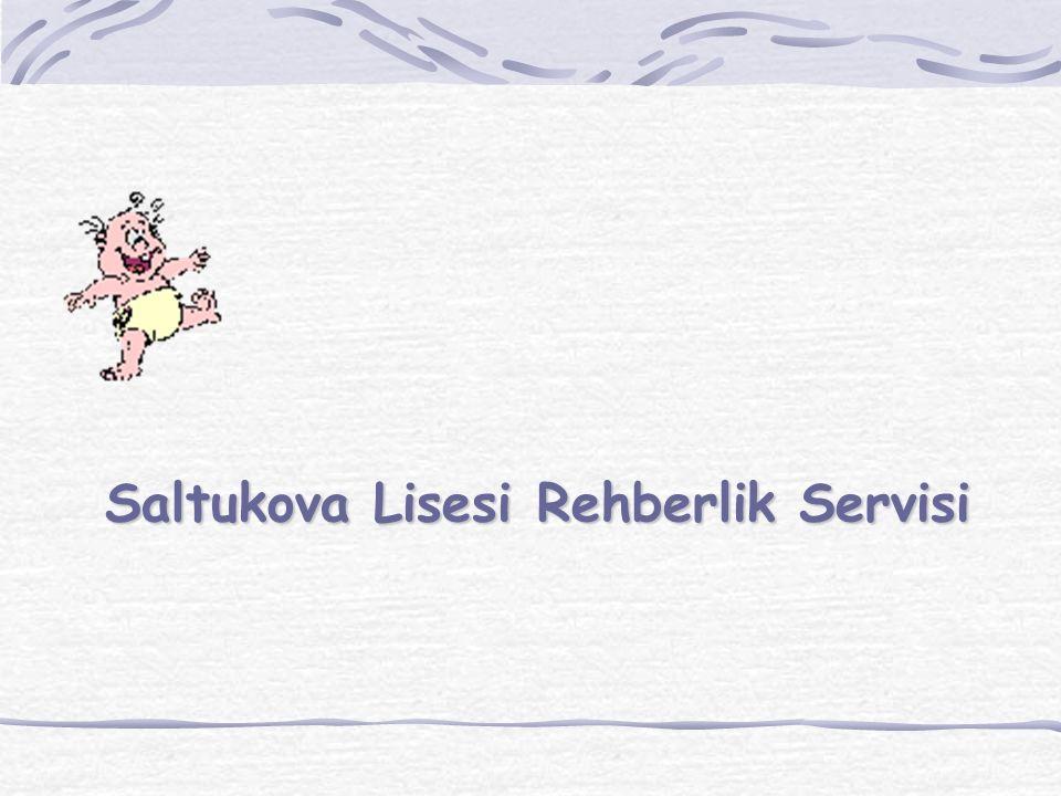 Saltukova Lisesi Rehberlik Servisi
