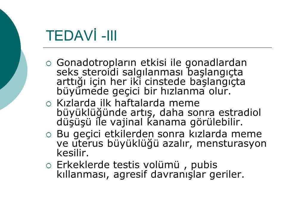 TEDAVİ -III