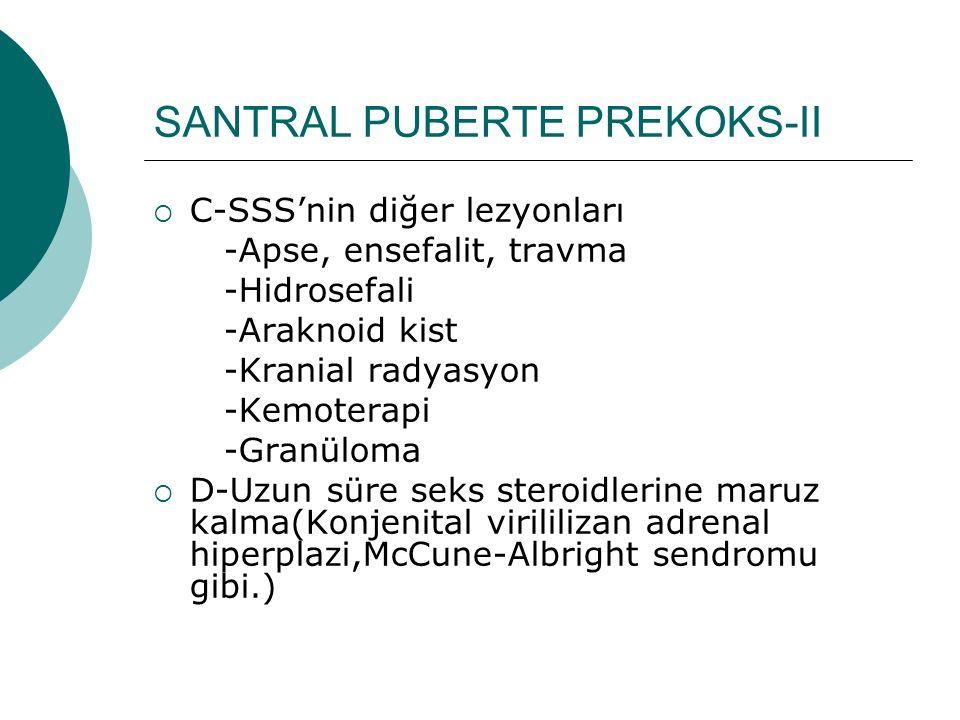 SANTRAL PUBERTE PREKOKS-II