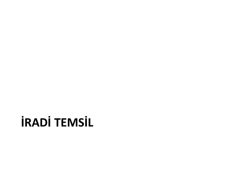 İRADİ TEMSİL