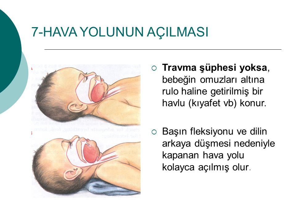 7-HAVA YOLUNUN AÇILMASI
