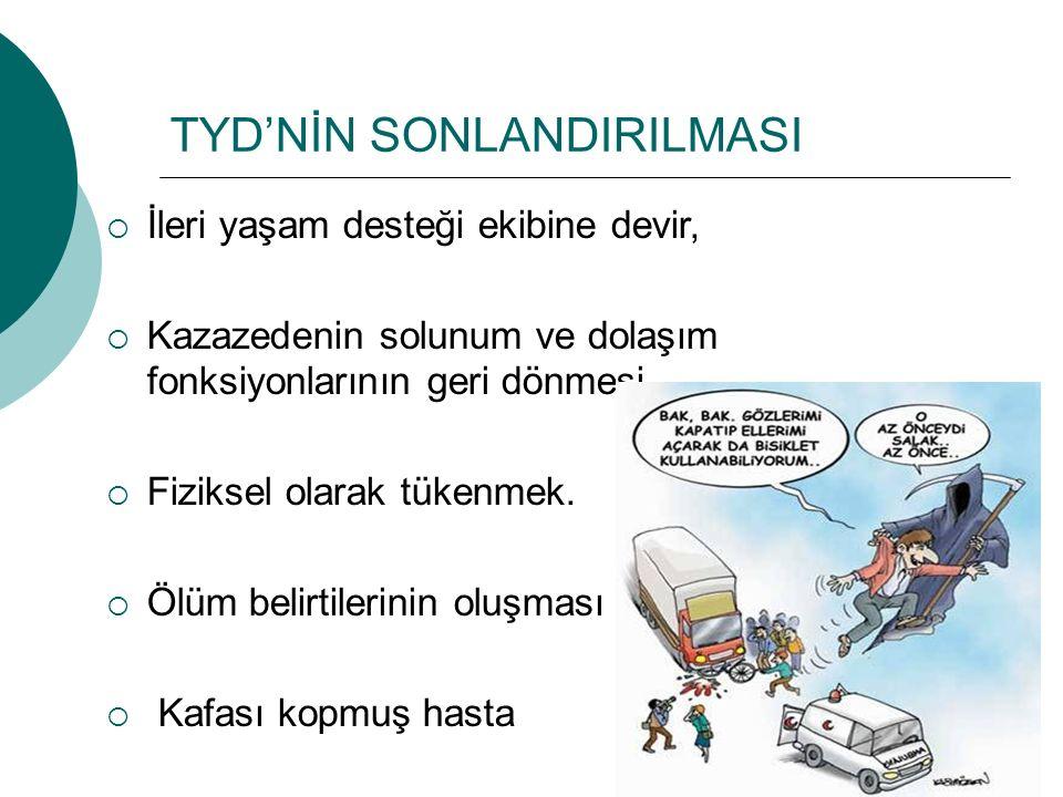 TYD'NİN SONLANDIRILMASI