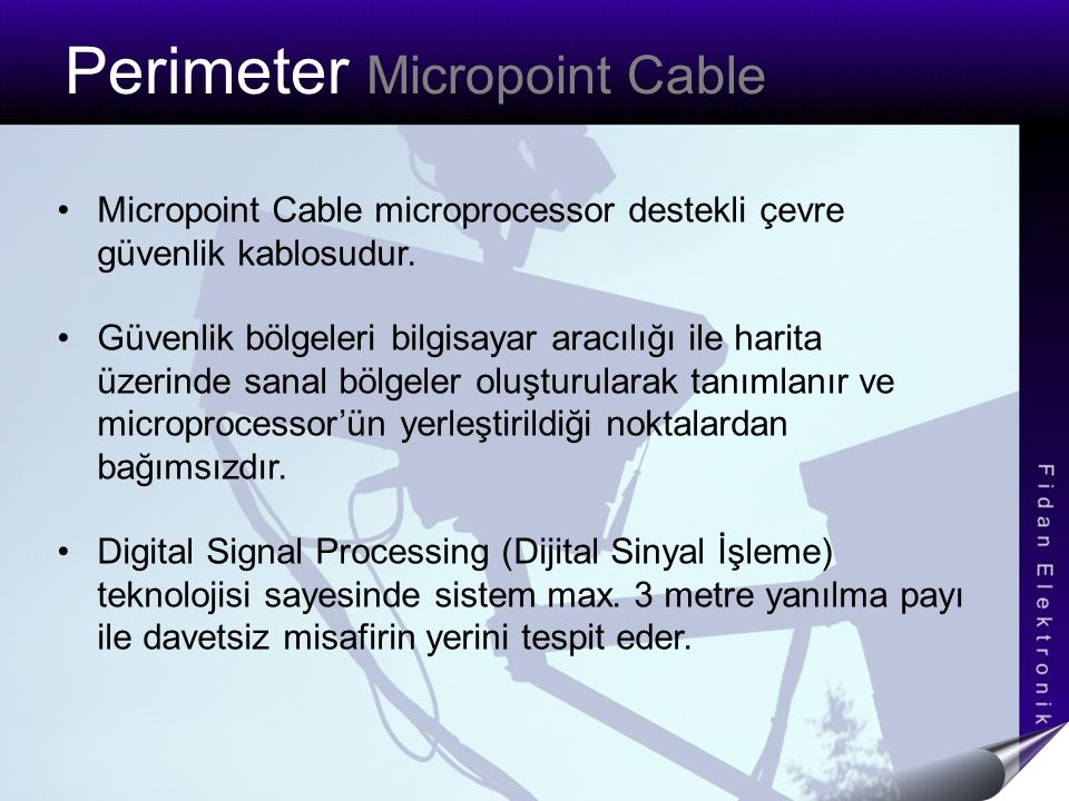 Perimeter Micropoint Cable