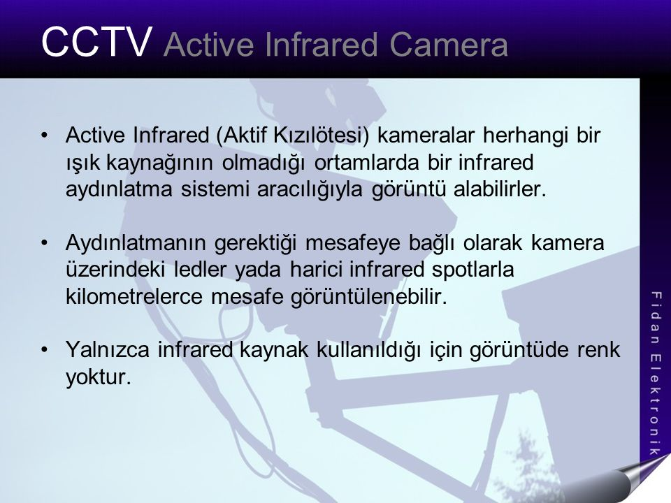 CCTV Active Infrared Camera