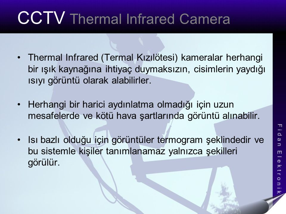 CCTV Thermal Infrared Camera