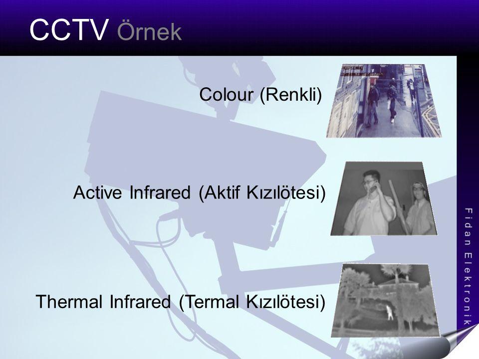 CCTV Örnek Colour (Renkli) Active Infrared (Aktif Kızılötesi)