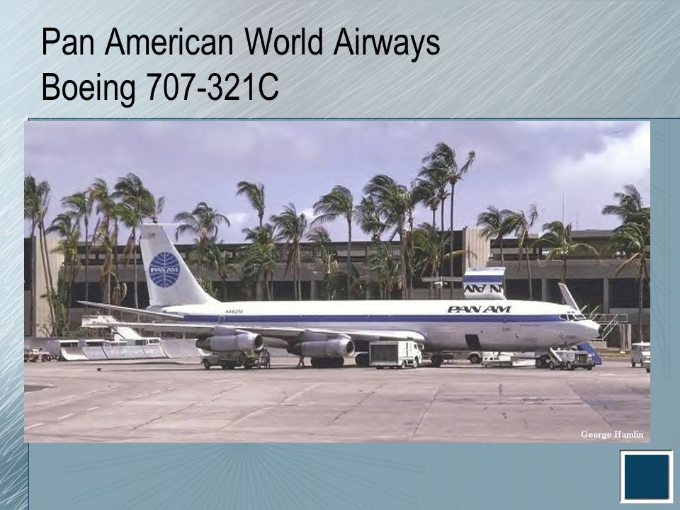 Pan American World Airways Boeing 707-321C