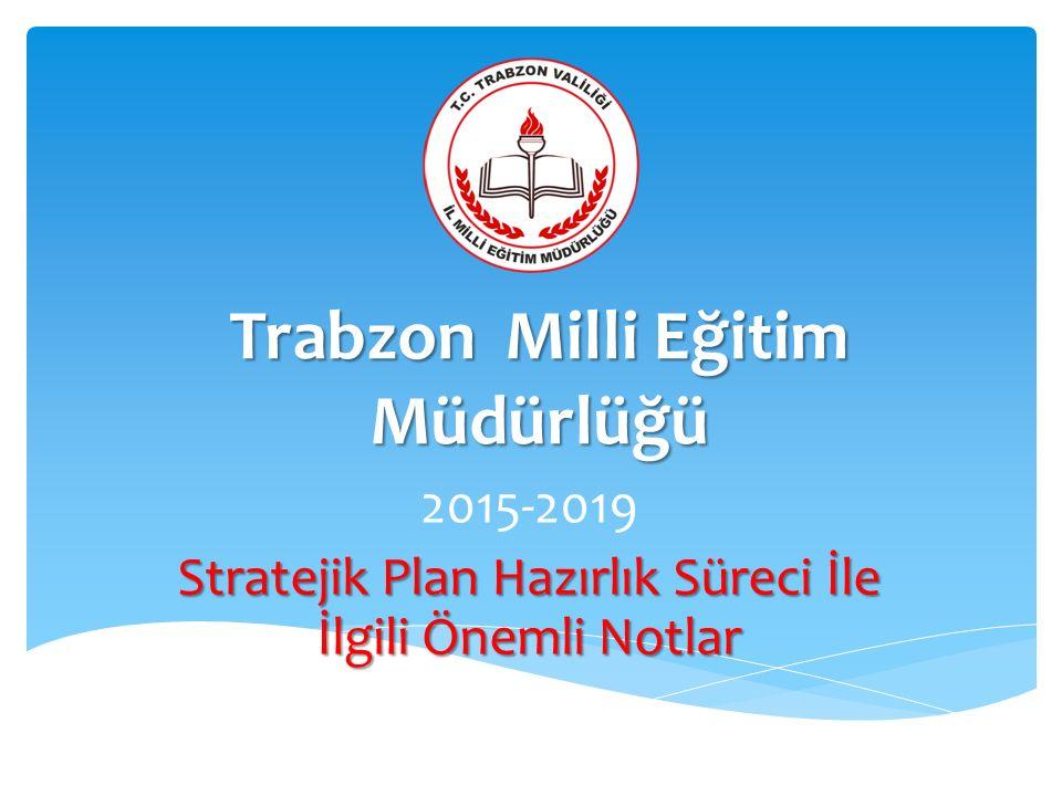 Trabzon Milli Eğitim Müdürlüğü
