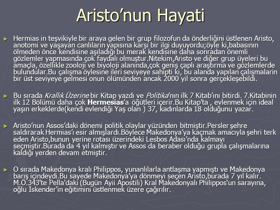 Aristo'nun Hayati