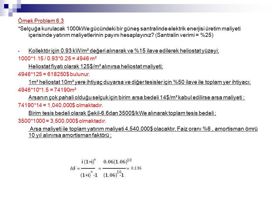 Örnek Problem 6.3