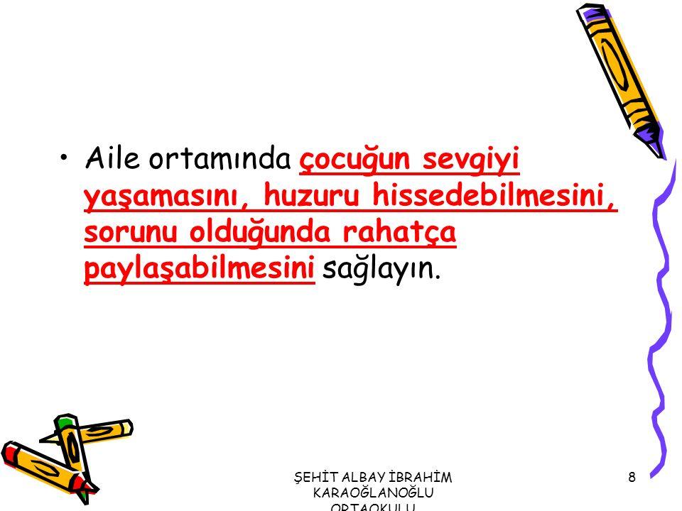 ŞEHİT ALBAY İBRAHİM KARAOĞLANOĞLU ORTAOKULU